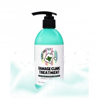 Бальзам для поврежденных волос сэкстрактами неровли и мяты Eyenlip DAMAGE CLINIC TREATMENT 300 мл.