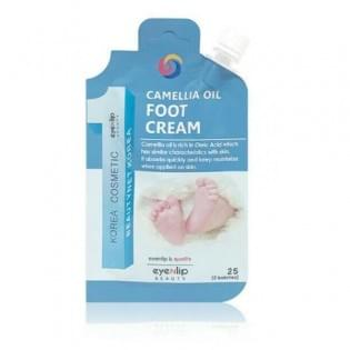 Крем для ног с маслом камелии EYENLIP CAMELLIA OIL FOOT CREAM, 25 мл.