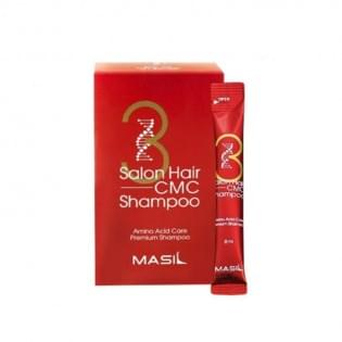 Восстанавливающий шампунь с аминокислотами MASIL 3SALON HAIR CMC SHAMPOO STICK POUCH, 8 мл.