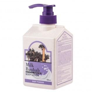 Лосьон для тела MilkBaobab Original Body Lotion Baby Powder, 500 мл.