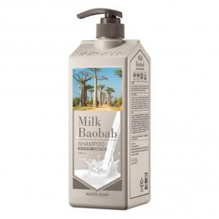 Шампунь для волос MilkBaobab Original Shampoo White Soap, 1000 мл.