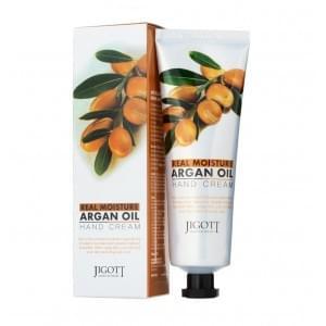 Крем для рук с аргановым маслом Jigott Real Moisture Argan Oil Hand Cream