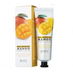 Крем для рук с экстрактом манго Jigott Real Moisture Mango Hand Cream