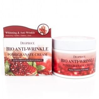 Крем антивозрастной на основе экстракта граната Deoproce Bio Anti-Wrinkle Pomegranate Cream, 100 мл.