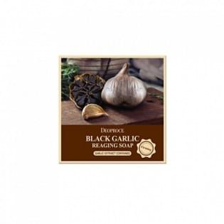 Мыло с черным чесноком анти-возрастное DEOPROCE SOAP (BLACK GARIC), 100 гр.