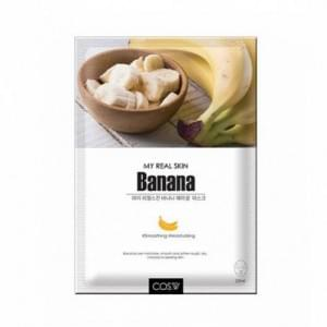 Тканевая маска COS.W My Real Skin Banana Facial Mask