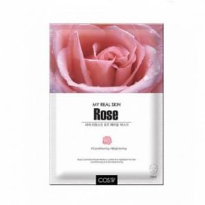 Тканевая маска COS.W My Real Skin Rose Facial Mask