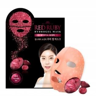 Гидрогелевая маска для лица с частицами рубина Scinic RED RUBY HYDROGEL MASK