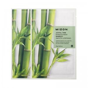 Маска для лица тканевая c бамбуком MIZON Joyful Time essence mask BAMBOO