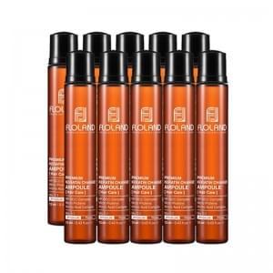 Ампула для восстановления поврежденных волос Floland Premium Keratin Change Ampoule(13 мл*10)