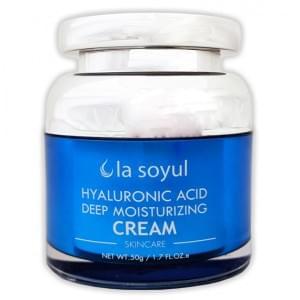 Крем с гиалуроновой кислотой для глубокого увлажнения кожи La Soyul
