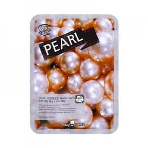 Маска для лица с жемчугом May Island Real essence Mask Pearl