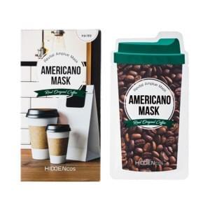 Увлажняющая и питательная маска для сухой кожи с экстрактом плодов кофе Арабика Hiddencos Americano