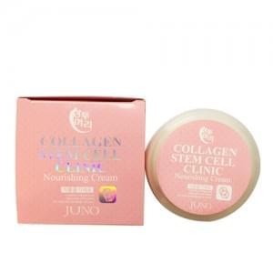 Питательный крем с коллагеном и стволовыми клетками Juno Sangtumeori Collagen Stem Cell Clinic Nourishing Cream