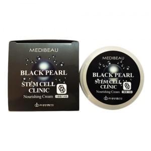 Питательный крем с экстрактом черного жемчуга и стволовыми клетками Juno Medibeau Black Pearl Stem Cell Clinic Nourishing Cream
