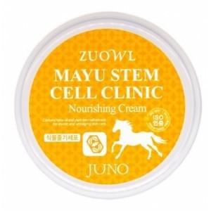 Питательный крем с лошадиным жиром и стволовыми клетками Juno Zuowl Mayu Stem Cell Clinic Nourishing Cream