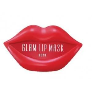 Патчи для губ гидрогелевые BEAUUGREEN Hydrogel Glam Lip Mask Rose (упаковка)