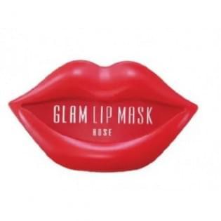Патчи для губ гидрогелевые BEAUUGREEN Hydrogel Glam Lip Mask Rose, 20 шт.
