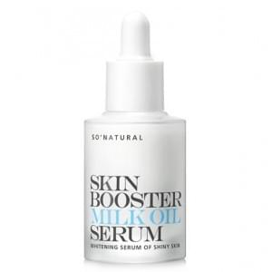 Осветляющий серум-молочко So Natural Skin Booster Milk Oil Serum