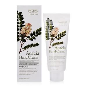 Увлажняющий крем для рук с экстрактом акации 3W Clinic Moisturizing Hand Cream (acacia)