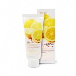 Увлажняющий крем для рук с лимоном 3W Clinic Moisturizing Hand Cream (lemon), 100 мл.