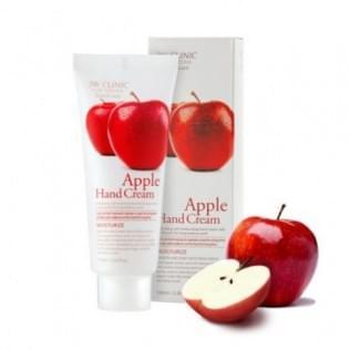 Увлажняющий крем для рук с яблоком 3W Clinic Moisturizing Hand Cream (apple), 100 мл.