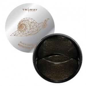 Патчи с муцином улитки TRIMAY Black Snail Gold Nutrition Eye Patch