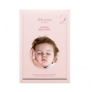 Увлажняющая тканевая маска для будущих мам JM Solution MAMA Pureness Aqua Mask