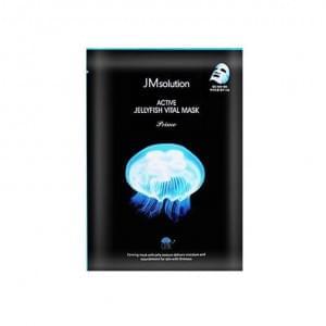 Тканевая маска с экстрактом медузы Jmsolution Active Jellyfish Vital Mask