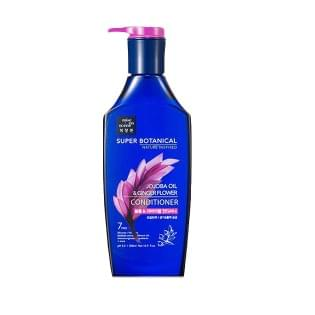 Бальзам для волос MISE EN SCENE SUPER BOTANICAL JOJOBA OIL & GINGER FLOWER CONDITIONER, 500 мл.
