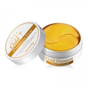 Патчи для глаз с золотом Gold Premium First Eye Patch 60шт