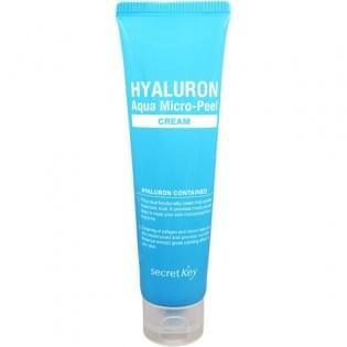 Крем-гель гиалуроновый Secret Key Hyaluron Aqua Micro-Peel Cream, 70 мл.