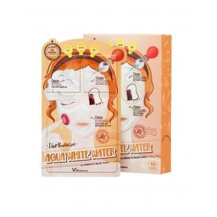 Маска 3-х шаговая для лица увлажняющая Elizavecca 3-step aqua white water mask pack